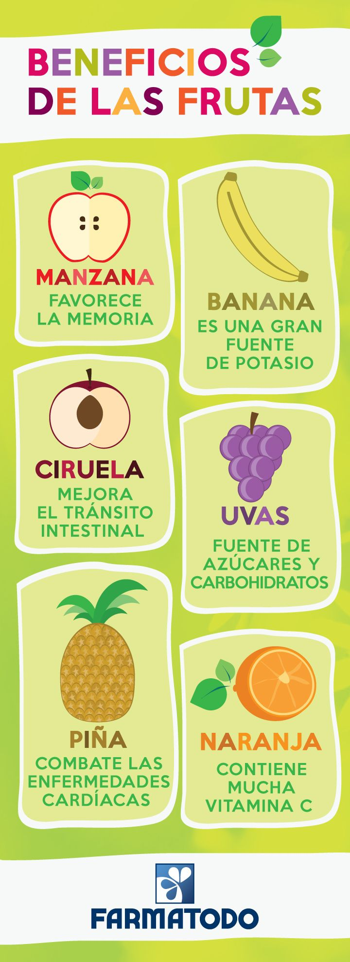 beneficios frutas