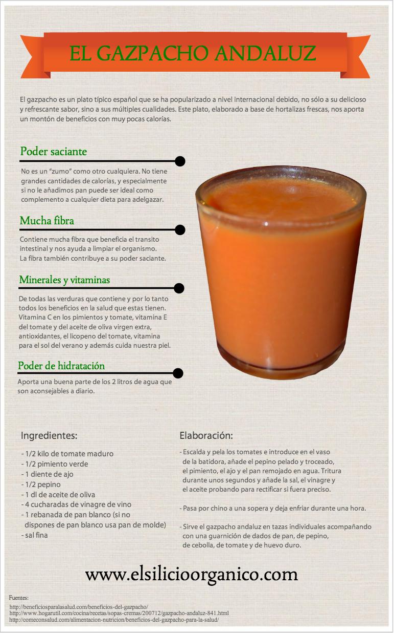 infografía grazpacho
