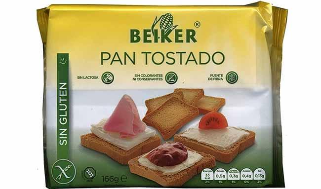 pan tostado sin gluten mercadona